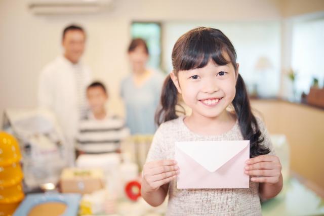 子供への手紙を8歳の子に書く!生まれた時の様子、どんな赤ちゃんだったかの例文